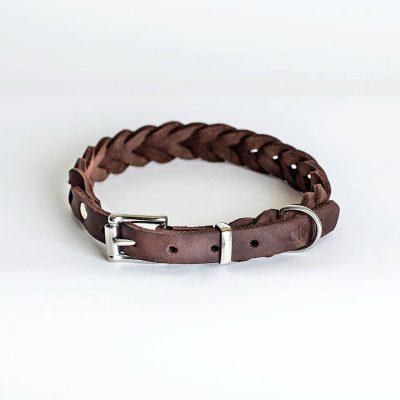 Miljøvennlig økologisk halsband for hunder 1