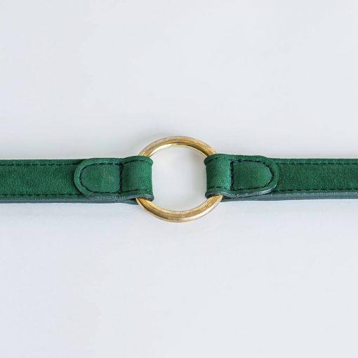 Miljøvennlig økologisk halsbånd grønt 3