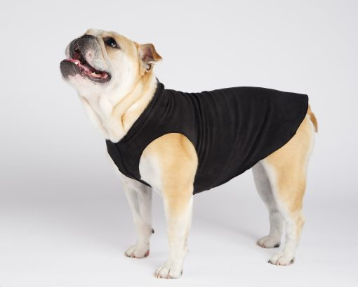 stretch fleece pullover fra gold paw