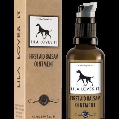 First Aid fra Lila Loves It behandler små skader på hunden og katten