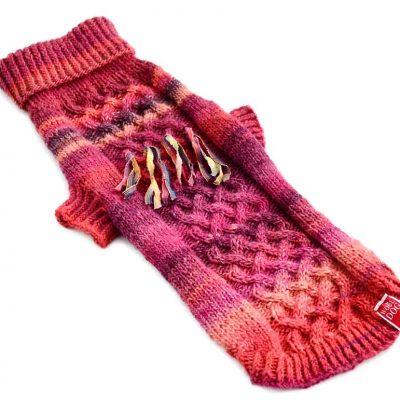 wool dog holi amarant rød genser