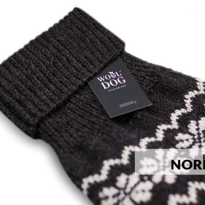 wool dog nordic genser