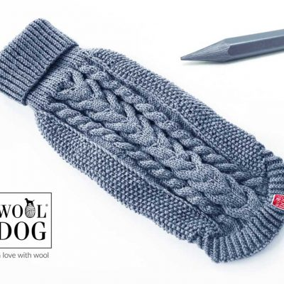 Wool Dog classic light graphite