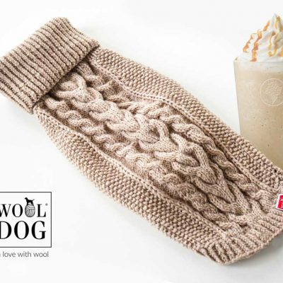 Wool dog classic milk caramel